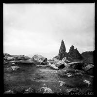 "Felsformation ""Old man of Storr"" auf der Insel Skye. 22.5.2015"