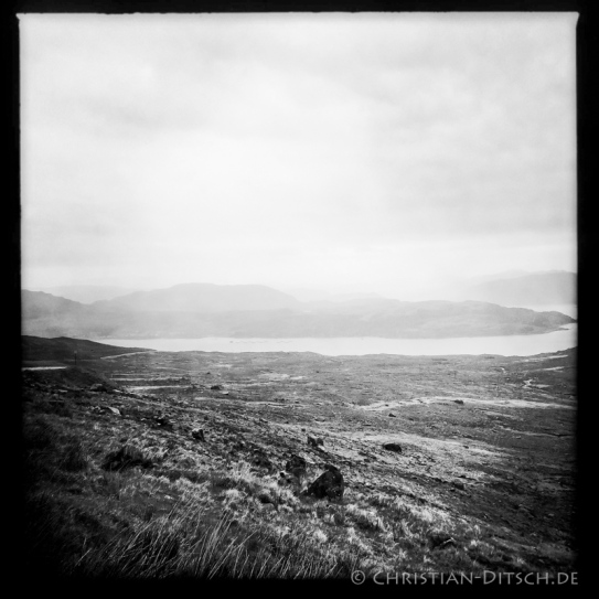 Blick auf das Loch Kishorn nahe der Ortschaft Kishorn in den North West Highlands. 23.5.2015