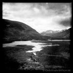 Wanderweg um Loch Affric in den North West Highlands. 25.5.2015