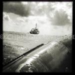 Sea Watch-2. Die Crew übt auf dem Weg in das Einsatzgebiet mit den Rettungsbooten (Tendern oder auch RIBs). 17.10.2016, Mediterranean Sea